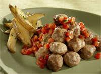 Prøv også Svenske kjøttboller med tomatsalsa.