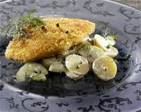 Prøv også Ostesteaklets med syrlig potetsalat.