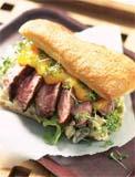 Prøv også Biffsandwich med mangosaus til 4.