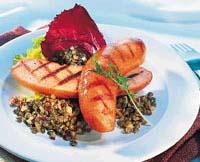Prøv også Grillede Go´ og Mager Kjøttpølser med linsesalat.