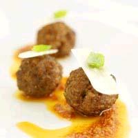 Prøv også Lammeboller med tomatpesto.