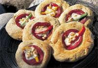 Nan-brød med Gilde salami oppskrift.