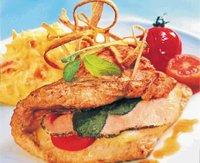 Prøv også Fylt schnitzel med rotmos.