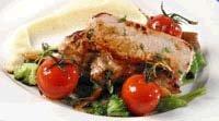 Prøv også Stekte svinemedaljonger med potetpurè og soyasmør.