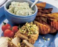 Prøv også Svinefilet med basillikum og pinjekjerner med fetakrem.