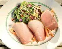Prøv også Søt Sommerskinke med salat, honningdressing og aprikoser.