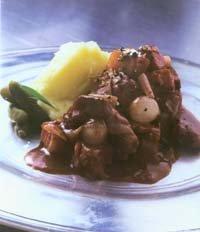 Prøv også Beef Bourgignonne.