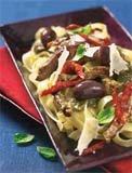Prøv også Biffstrimler med pasta og pesto.