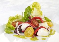 Italiensk grønn salat oppskrift.
