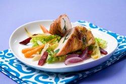 Les mer om Kyllingfilet fylt med krydder og ost hos oss.