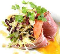 Prøv også Lammelår i buljong med syltede rotgrønnsaker og sennepscreme.