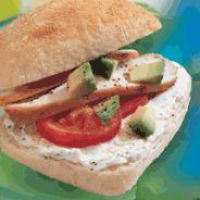 Prøv også Philadelphia med avokado og tomat.