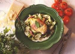 Prøv også Kyllingfilet med parmaskinke, parmesan og salvie 1.