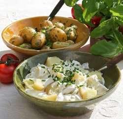 Prøv også Potetsalat med nypotet.