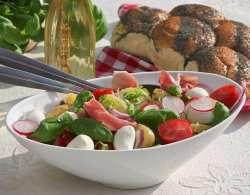 Prøv også Nypotetsalat med mozzarella.