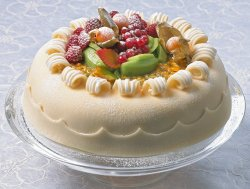 Prøv også Marsipankake med frukter.