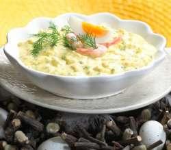 Prøv også Eggesalat med reker.