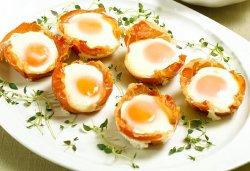Prøv også Egg og skinke i muffinsform.