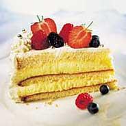 Les mer om Bløtkake med vaniljekrem hos oss.
