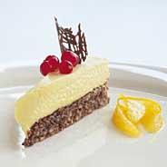 Prøv også Sjokoladeiskake med hvit sjokolademousse 1.