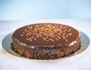 Sjokoladekake med Daim strøssel oppskrift.
