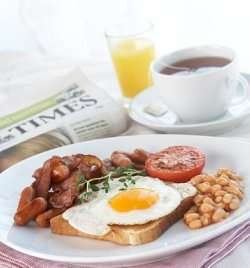 English Breakfast oppskrift.