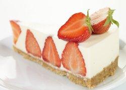 Prøv også Rømmekake med jordbær.