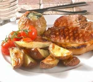 Prøv også Koteletter med eple og blåmuggost.
