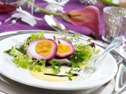 Prøv også Rødbetmarinerte egg.
