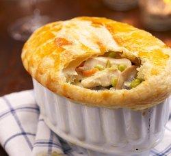 Prøv også Innbakt kremet kyllingsuppe.