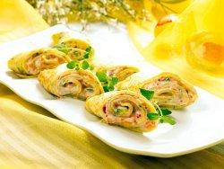 Prøv også Urtepannekaker med røkt laks og crème fraîche.