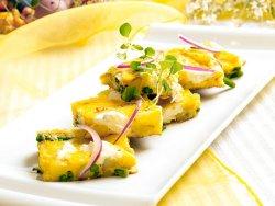 Prøv også Frittata med asparges, potet og chèvre.