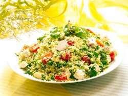 Prøv også Kylling og couscoussalat med urter.