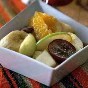 Bilde av Gammeldags fruktsalat.