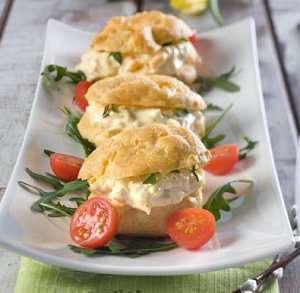 Prøv også Ostebakkels med eggesalat.