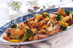 Prøv også Kylling- og grønnsakwok.