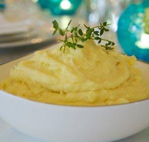 Prøv også Potetmos med ovnsbakt hvitløk.