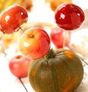 Ekte glaserte epler oppskrift.