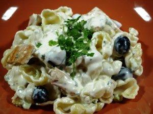 Les mer om Kylling med pastasalat hos oss.