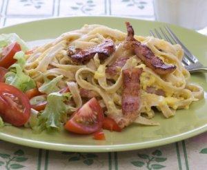 Prøv også Pasta carbonara 2.