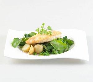Prøv også Panert kylling med nypotetsalat.