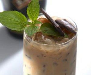 Baileys Mint iskaffe oppskrift.