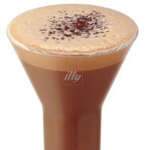Caffe` Fondente Mørk sjokolade kaffe oppskrift.
