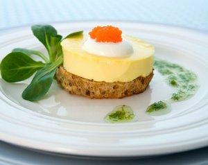 Prøv også Egg Royal med crème fraîche og løyrom.