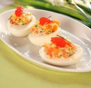 Prøv også Egg med røkelaksfyll.