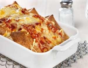 Prøv også Superrask enchilada.
