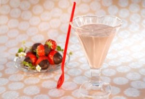 Prøv også Sjokolade- og jordbærsmoothie.