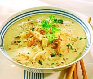 Prøv også Kyllingsuppe med hveteris 1.