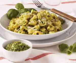 Prøv også Tortellini med hjemmelaget pesto.