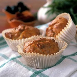 Prøv også Mettende muffins.